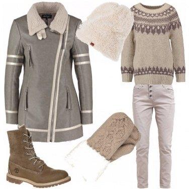 Outfit A passeggio sulla neve