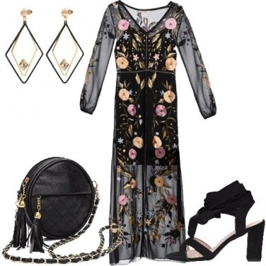 Outfit Il nero fa moda