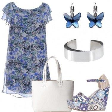 Outfit Fiori e farfalle