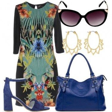 Outfit Abito multicolore