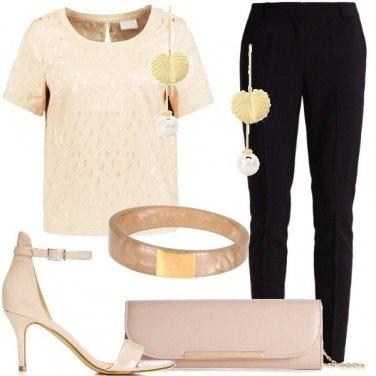 Outfit Una delicata e semplice eleganza