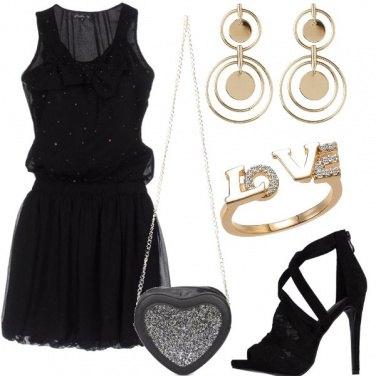 Outfit Nero prezioso