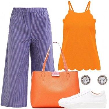 Outfit La borsa arancione