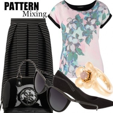 Outfit Pattern Mixing