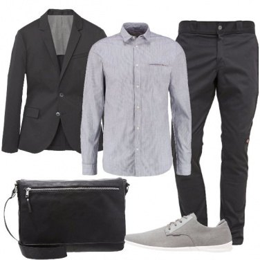 Outfit Basic in ufficio