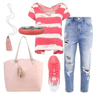 Outfit Partenza casual