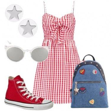 Outfit Il quadretto Vichy