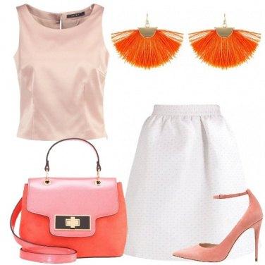Outfit Solare con l\'arancione