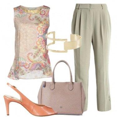 Outfit La blusa floreale