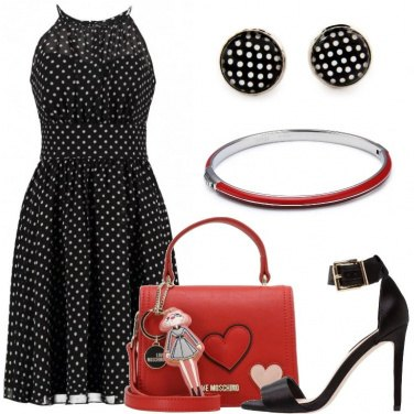 Outfit L\'abito a pois