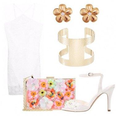 Outfit La minibag coi fiori