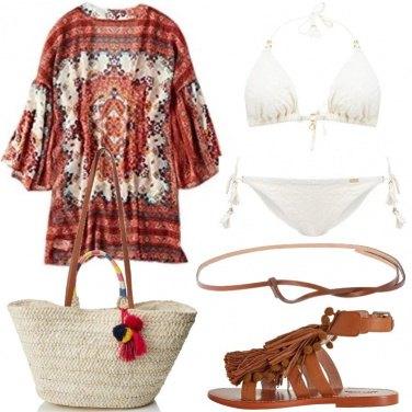 Outfit Il copricostume a kimono