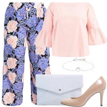 Outfit Elegante con i pantaloni