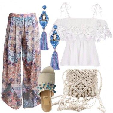 Outfit Serata boho