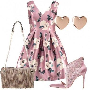 Outfit Splendida con i fiori