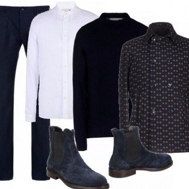 Outfit Lo style in blue