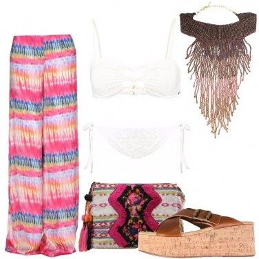 Outfit Con te sulla spiaggia