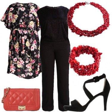 Outfit La tracollina rossa