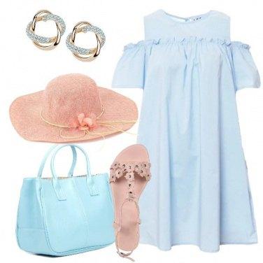 Outfit Il vestito celeste