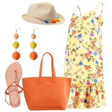 Outfit Una mamma con i colori del sole
