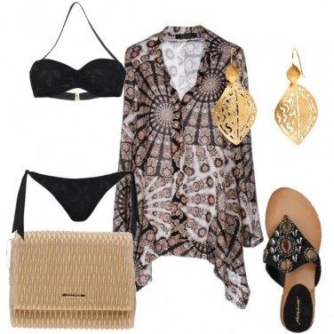 Outfit Stile etnico in spiaggia