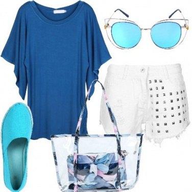 Outfit Tra il bianco e il blu
