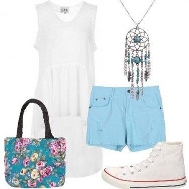 Outfit La tunica asimmetrica