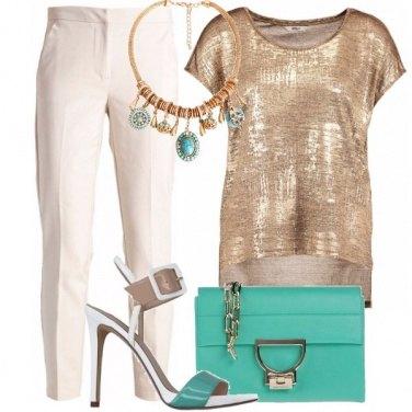 Outfit Contrasto inaspettato
