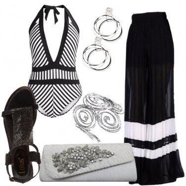 Outfit Il pantalone palazzo plissè