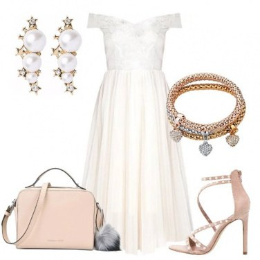 Outfit Principessa in bianco