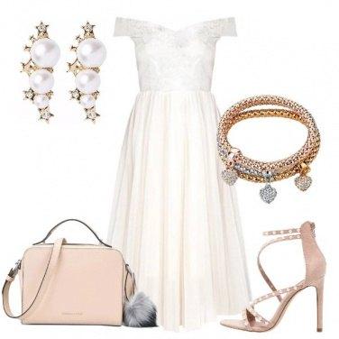 Outfit Principessa in bianco