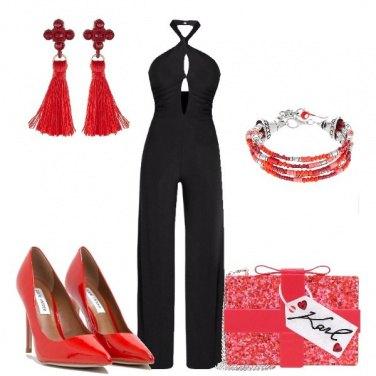 Outfit Il rosso ed il nero
