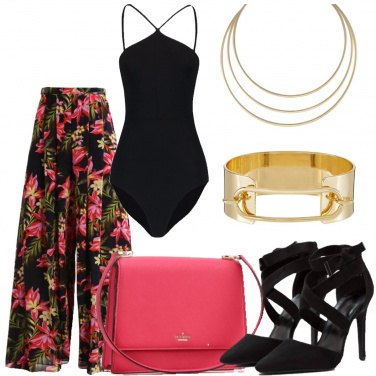 Outfit Pantaloni tropical
