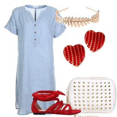 Outfit Cuore d\'oro