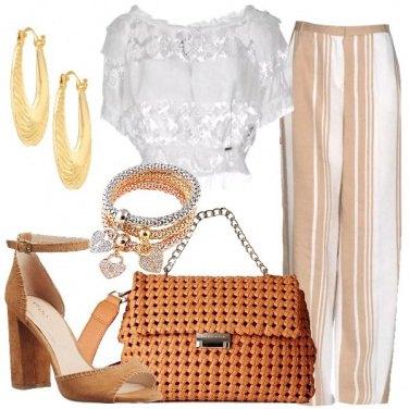 Outfit La borsa intrecciata