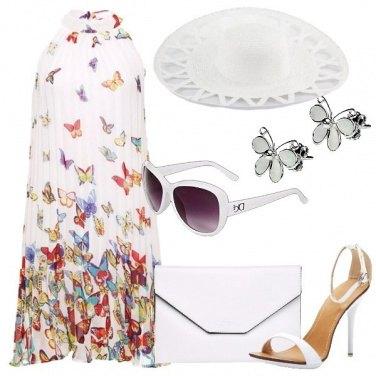 Outfit Passeggiando tra le farfalle