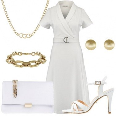 Outfit Abito bianco