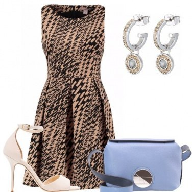 Outfit L\'abito e la mini bag