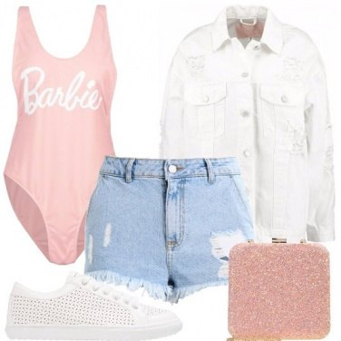 Outfit Shorts in denim