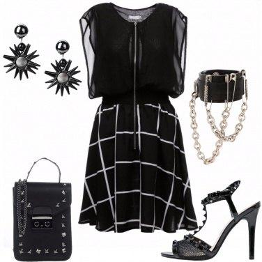Outfit Borchie e catene