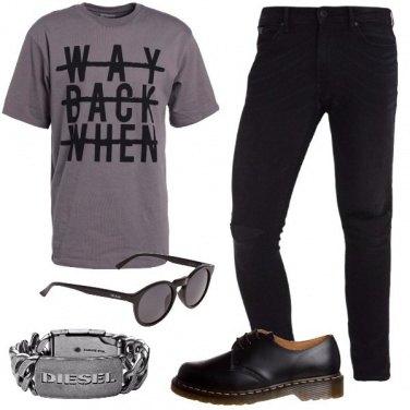 Outfit Il bracciale rock