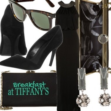 Outfit Breakfast at Tiffany\'s