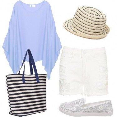 Outfit Sfumature del mare