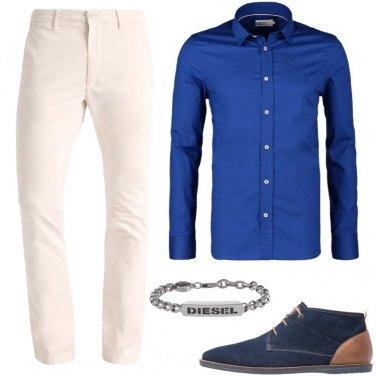 Outfit La camicia blu