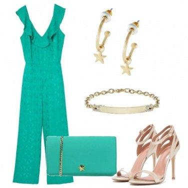 Outfit La tuta verde