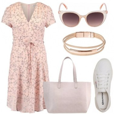 Outfit Mattinata in rosa