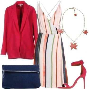Outfit Il blazer e le righe