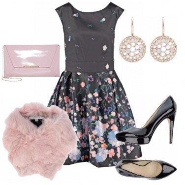 Outfit Inverno fiorito