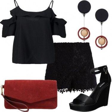 Outfit Nero per le sere calde