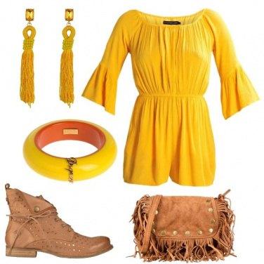 Outfit Protagonista il giallo